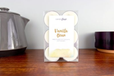 Vanilla Bean Soy Tealights Pack of 6